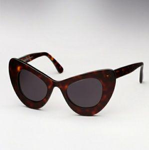 Zac Posen x Illesteva Cat Eye Sunglasses